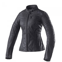 Clover Bullet Pro Leather Lady Jacket Metal