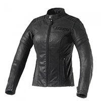 Giacca Pelle Donna Clover Bullet Pro Nero Donna