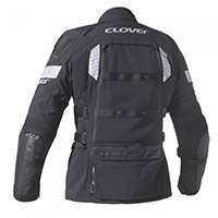 Clover Crossover 4 Airbag Jacket Black