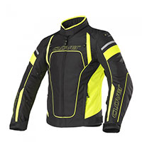 Clover Rainblade Wp Lady Jacket Black Yellow