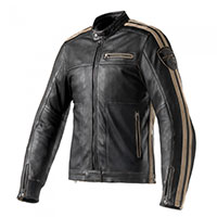 Clover Rebel Leather Jacket Black