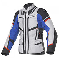 Clover Savana 3 Wp Jacket Blue Grey