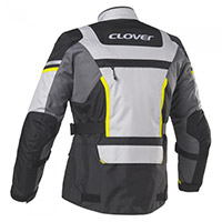 Clover Savana 3 Wp Jacket Yellow Grey