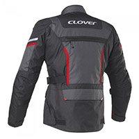 Clover Savana 3 Wp Jacket Black Grey