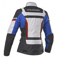 Clover Savana 3 Wp Lady Jacket Blue Grey