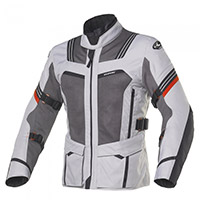 Clover Ventouring 3 Wp Airbag Jacket Black Grey