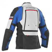 Giacca Clover Gts-4 Wp Airbag Compatibile Blu