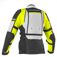 Giacca Clover Gts-4 Wp Airbag Compatibile Giallo