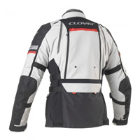 Giacca Clover Gts-4 Wp Airbag Compatibile Grigio