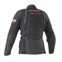 Giacca Clover Gts-4 Wp Airbag Compatibile Nero