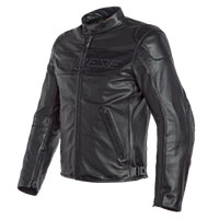 Dainese Bardo Perforated Leather Jacket Black