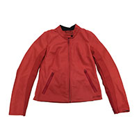 Dainese Djanet Lady Leather Jacket Red