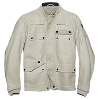 Dainese Kidal Leather Jacket Sand