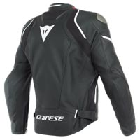 Dainese Racing 3 D-air® Leather Jacket White