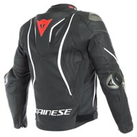 Dainese Tuono D-air® Leather Jacket Black