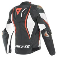 Dainese Tuono D-air® Perforated Leather Jacket White