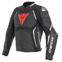 Dainese Tuono D-air® Perforated Leather Jacket Black