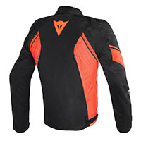 Dainese Avro D2 Tex Jacket Black Fluo Red