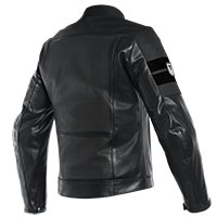 Dainese  8-track Perforated Leather Jacket Black