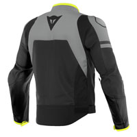 Dainese Agile Leather Jacket Grey