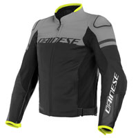 Dainese Agile Leather Jacket Gris