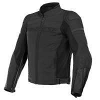 Dainese Agile Perforated Leather Jacket Black