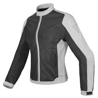 Dainese Giacca Air Flux D1 Tex Lady Grigio Donna