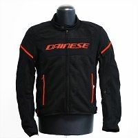 Dainese Air Frame D1 Tex Jacket Rosso Fluo