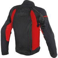 Dainese Air Frame D1 Tex Jacket Black Red