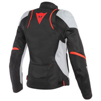 Dainese Air Master Tex Lady Jacket White Red