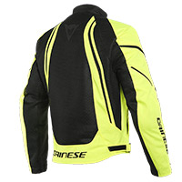 Dainese Air Crono 2 Jacket Black Yellow Fluo