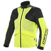 Dainese Air Tourer Tex Jacket Yellow Black