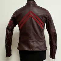 Dainese Arielle D72 Leather Jacket Purple Woman