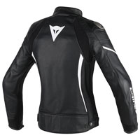 Dainese Assen Lady Leather Jacket Nero Donna