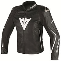 Dainese Assen Perforated Leather Jacket Black