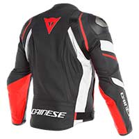 Dainese Avro 4 Perforated Jacket Black White Red