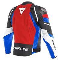 Dainese Avro 4 Jacket Lava Red White Blue