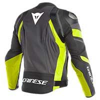 Dainese Avro 4 Jacket Black Yellow Fluo