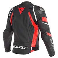Dainese Avro 4 Jacket Black Lava Red