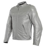 Dainese Bardo Leather Jacket Grey