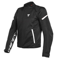 Dainese Bora Air Tex Jacket Black White