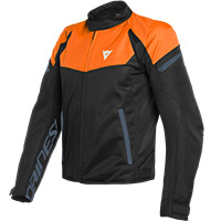Dainese Bora Air Tex Jacket Orange Black Iris