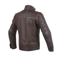 Dainese Bryan Leather Jacket Marrone