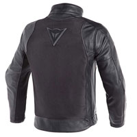Dainese Corbin D-dry Leather Jacket Nero
