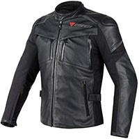 Dainese Cruiser D-dry Leather Nero