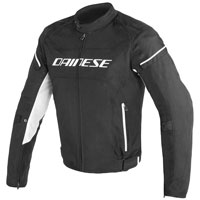 Dainese D-frame Tex Jacket Bianco