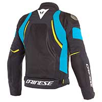 Dainese Dinamica Air D-dry Jacket Black Fire Blue Fluo Yellow