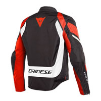 Dainese Edge Tex Jacket White Red