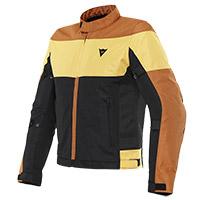 Dainese Elettrica Air Jacket Brown Yellow