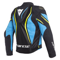 Dainese Estrema Air Tex Jacket Blue Fluo Yellow